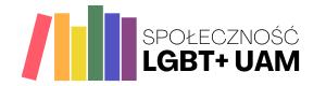Logo Stowarzyszenia Społeczności LGBT+ UAM